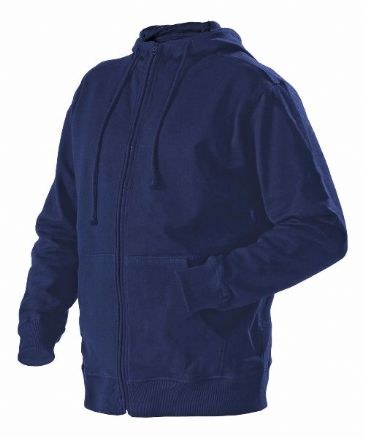 Blaklader 3366 Full Zipped Sweatshirt With Hood (Navy Blue)